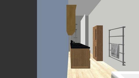 grote lange badkamer - Bathroom - by svervall
