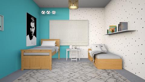 432 - Minimal - Kids room - by litalbdesign