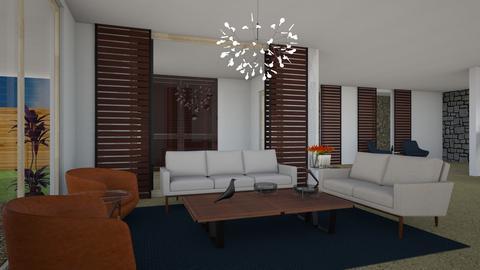 MINERVA MARTINEZ  - Living room - by Jlo Design