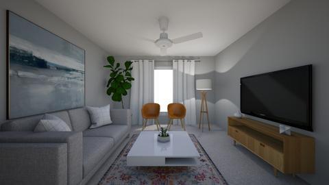 Blah - Living room - by chrometoaster