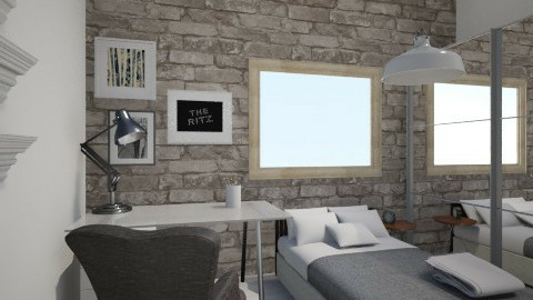 Projekt 1  - Vintage - Bedroom - by 280100
