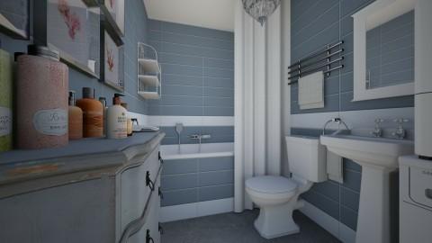 ApartmentNew V - Eclectic - Bathroom - by Theadora