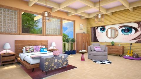 teen - Global - Bedroom - by zayneb_17