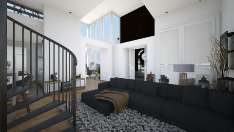 Clock House Penthouse - Modern - by StienAerts