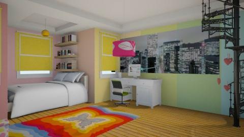 bedroom - Glamour - Bedroom - by Karine Hakobayan