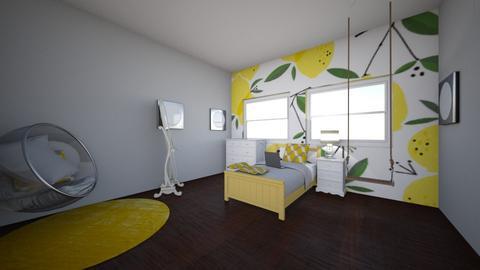 lemons in july - Kids room - by squid2
