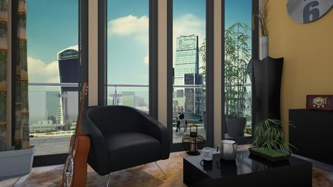 Guitar - Living room - by CCPompey