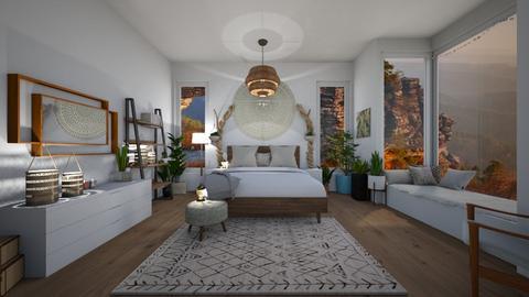 boho - Bedroom - by ELEANOR19