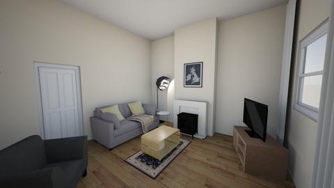 HM - Living room - by treacyf3