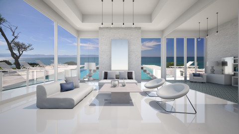 Puerto Vallarta - Minimal - Living room - by Lucii