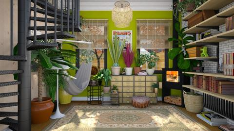 plant - Living room - by annacoxyy
