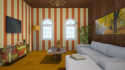 orange  - Living room - by Jovhanna Willems