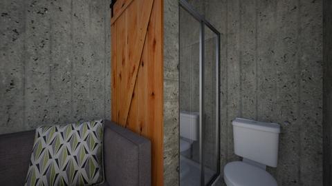 Underground Bunker 5 - Bathroom - by SammyJPili