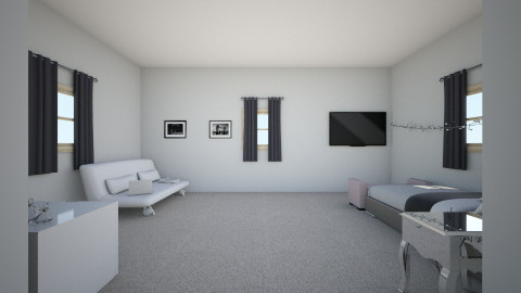 Upstairs Bedroom - Glamour - Bedroom - by mariavagi