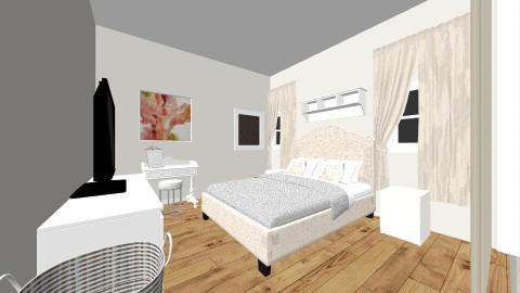 current bedroom design - by kristiderev