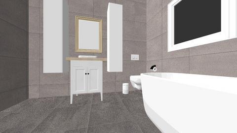 badkamer - Bathroom - by Jentina