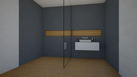 N Bathroom - Bathroom - by rickglassinteriors