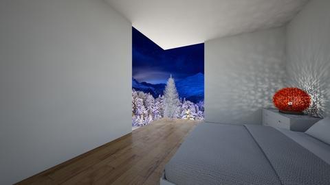 Christmas Bedroom - Modern - Bedroom - by FabulousGirl35