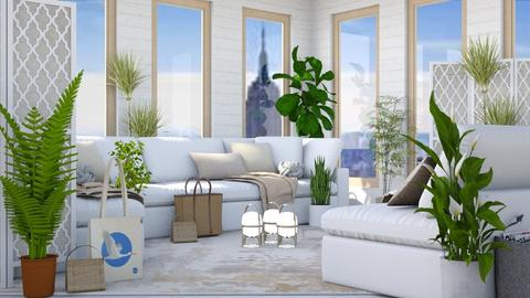 Plants Plants Everywhere - Modern - Living room - by millerfam