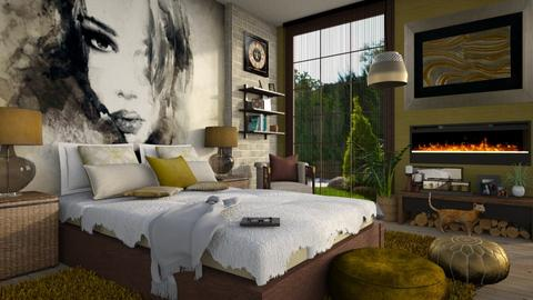 Bedroom Mural 2 - Bedroom - by bigmama14