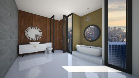 Stylish Bathroom - Bathroom - by Katie Kins