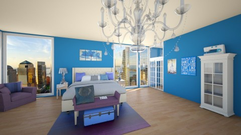 Raquel Adobe Heights 2 - Glamour - Bedroom - by fashiondesigner7
