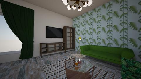 jungle - Living room - by dianamron