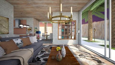 work - Living room - by nanabpf