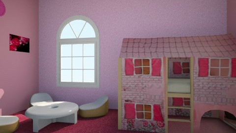 Princess bedroom - Bedroom - by kinga1204