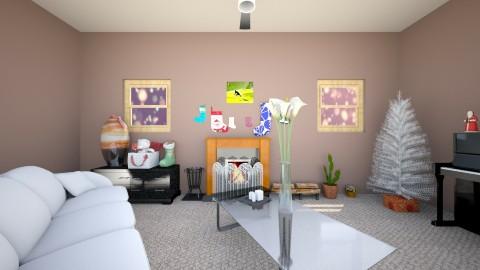 white chrstmas - Living room - by Ttheboss