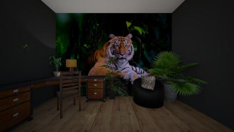 tiger office - Office - by khayla simpson