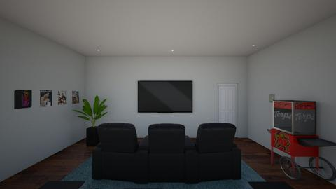 movie room 1 - Kids room - by hallefran