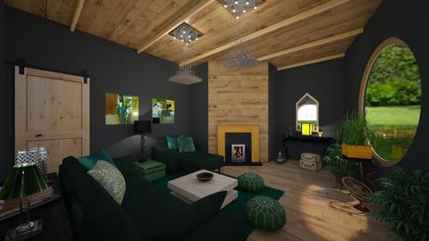 Oak Flooring - Living room - by Sher02