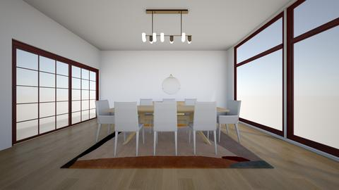 Paulina Oak  bottega - Dining room - by karlitajmlm