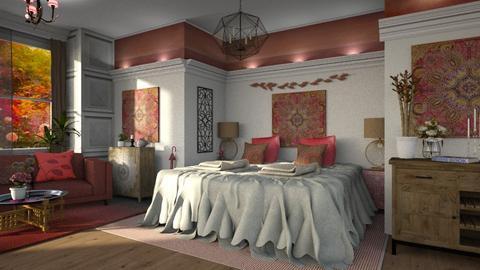Bohemian Bedroom - by ZsuzsannaCs