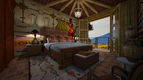 Africa - Bedroom - by Maria Helena_215