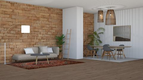 bamboo - Living room - by Too