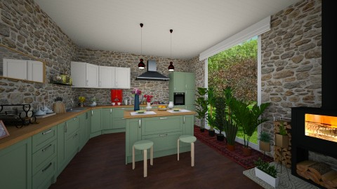 StoneCold - Kitchen - by tena9