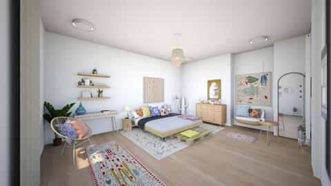 BOHO BEDROOM - Rustic - Bedroom - by ARTISTSIERRA