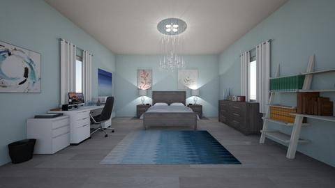 Bedroom and Office - Modern - Bedroom - by cbruno23