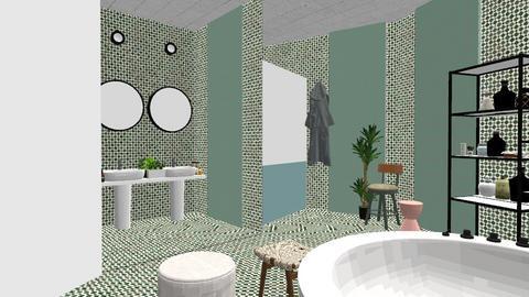 MCBathroom - Bathroom - by ZuzanaDesign