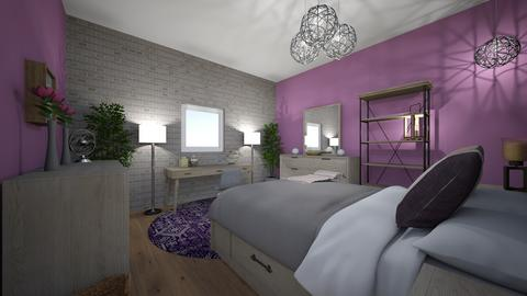 Purp - Bedroom - by CountryChick8