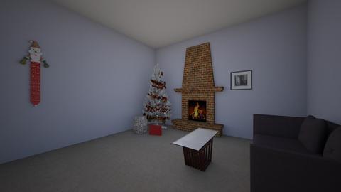 Christmas room123 - Living room - by Jewel tiger