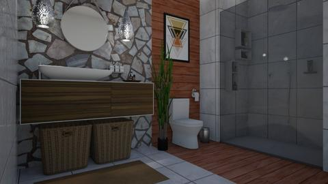 Natural bathroom - Bathroom - by nonanymous_