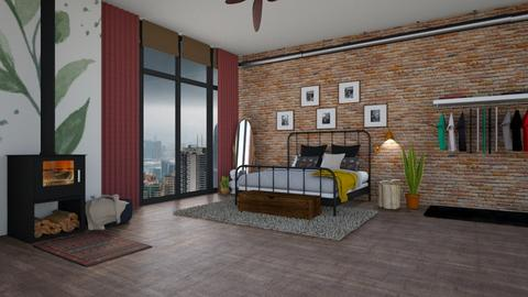 Loft Bedroom - Bedroom - by MarieLuna
