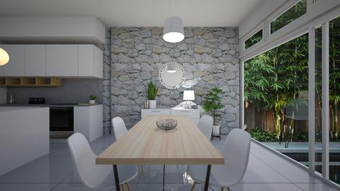gardenia dining - by kaylxni