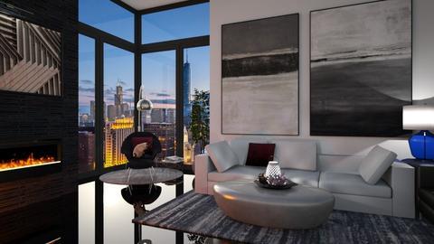 BW Living Room - Living room - by rachaelphillips636