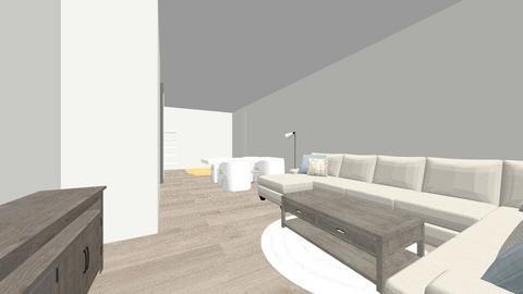 Basement - Living room - by Emkat24