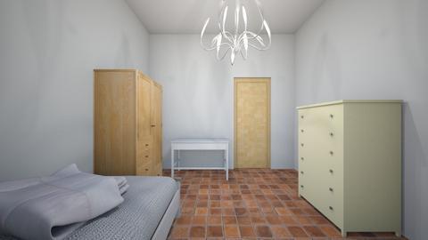 room pt 2 - Bedroom - by frra
