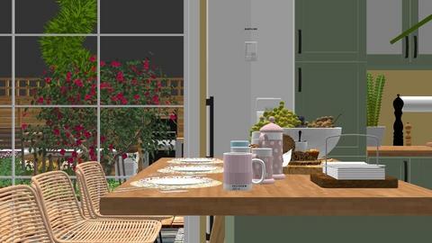 Rustic Living room  - Rustic - Living room - by elenatsempeli